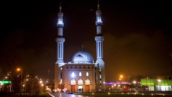 De Essalam moskee in Rotterdam