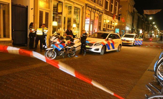 Steekpartij in de Torenstraat in Den Bosch.