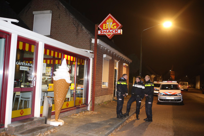 Gewapende overval op cafetaria in Boxtel.