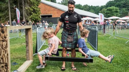 Hitte maakt Highland Games extra zwaar