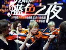 Na tournee door China op het concertpodium in Breepark