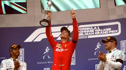 Leclerc eert met eerste Formule 1-zege overleden Hubert