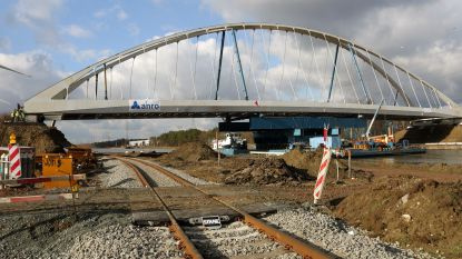 Brug in Eindhout wordt begin mei geopend voor verkeer