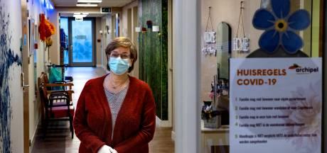 Verpleeghuisafdeling Dahlia na negen weken uit cohort: 'Ik heb me nooit laten leiden door angst'