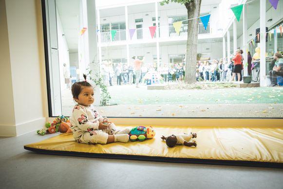 In de Brugse Poort opende vorig jaar nog de vernieuwde stedelijke kinderopvang 'De Bron'.