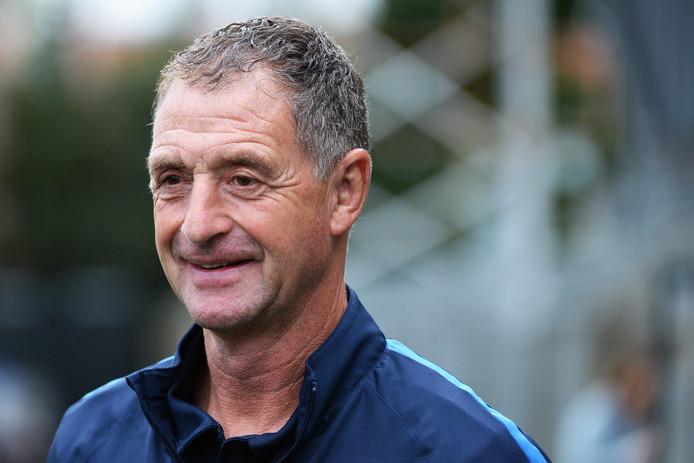 Ernie Brandts, hoofdtrainer van FC Eindhoven