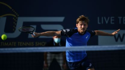 David Goffin verliest ook van Matteo Berrettini in Ultimate Tennis Showdown