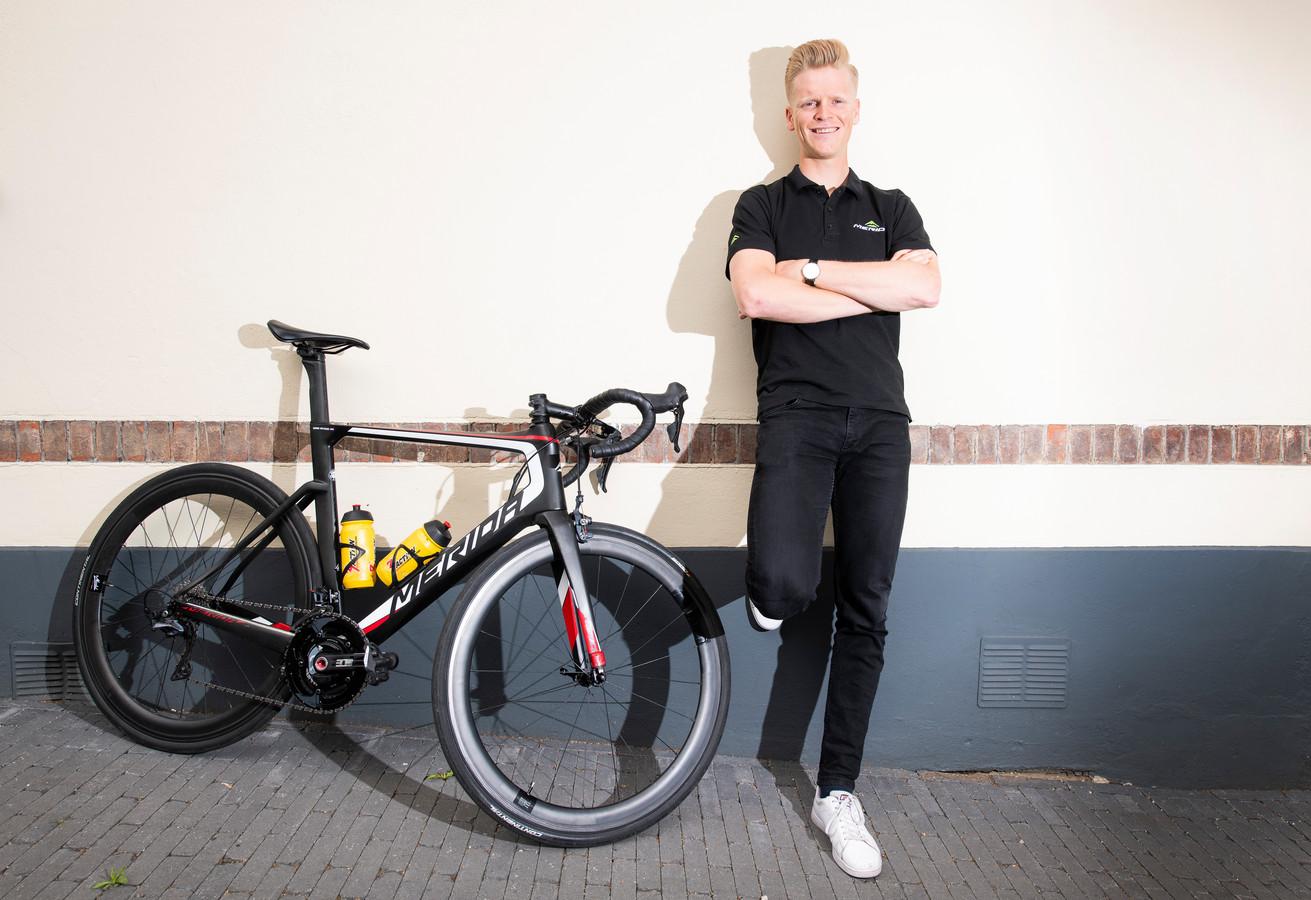 Arne Peters gaat komend seizoen in het groen en geel van WV De IJsselstreek de weg op.