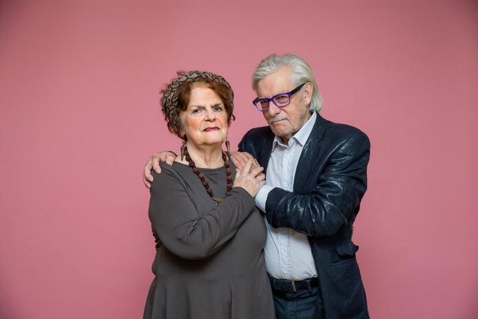 Schrijver Jan Siebelink en zijn vrouw Gerda