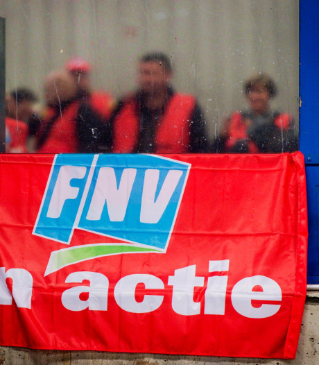 Vakbondsactie in Arnhem voor beter pensioen, dag na OV-staking