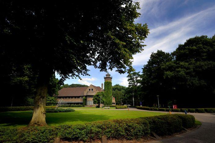 Landgoed Vrederust met het hoofdgebouw.