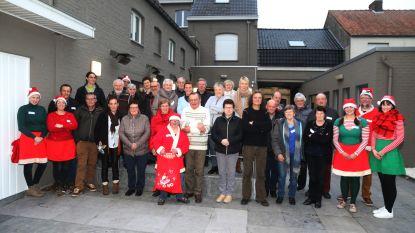 Vrijwilligers Vondels VZW worden bedankt.