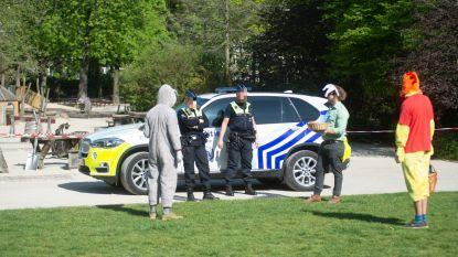 Zonnig paasweekend, en toch schrijft Antwerpse politie minder corona-pv's uit