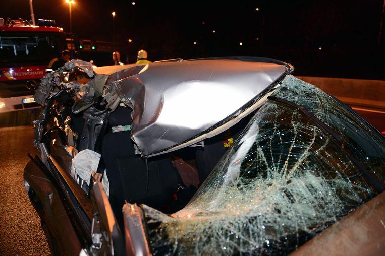 Shanty zat als passagier in de Opel. Ze overleefde de klap niet.