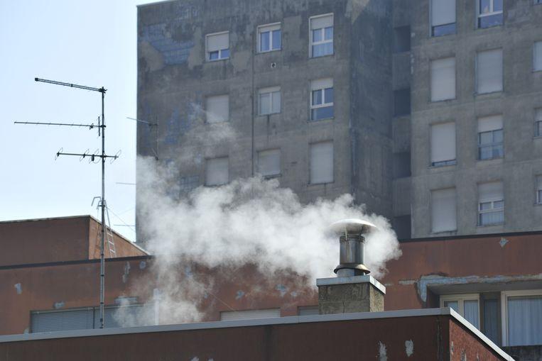 Beeld ter illustratie, N-VA wil de luchtkwaliteit verbeteren door een 'uitfasering van vervuilende verwarmingstoestellen'.