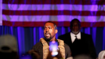 Kanye West zet presidentscampagne door