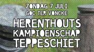 Cultuurraad organiseert Herenthouts kampioenschap 'teppeschiet'