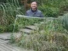 Demonstratie 'onzichtbaarheidsmantel' maakt de tongen los in China