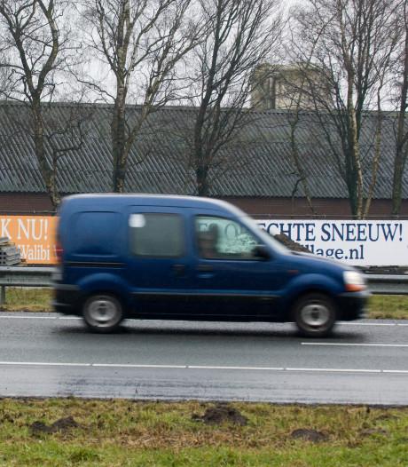 Illegale reclameborden in Dinkelland en Tubbergen meteen weggehaald