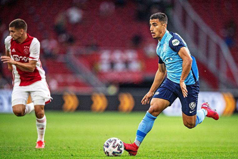 De Australische Daniel Arzani (21) kan uitgroeien tot een smaakmaker bij FC Utrecht. Beeld Guus Dubbelman / de Volkskrant