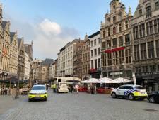 La police enquête sur un incident de tir survenu vendredi sur la Grand-Place d'Anvers