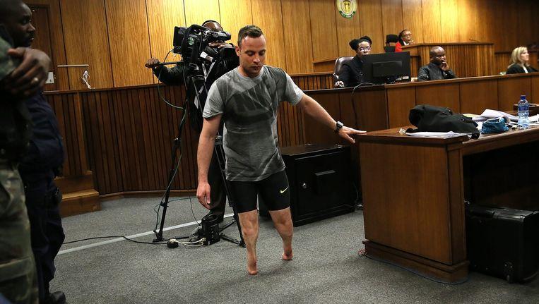 Oscar Pistorius. Beeld null