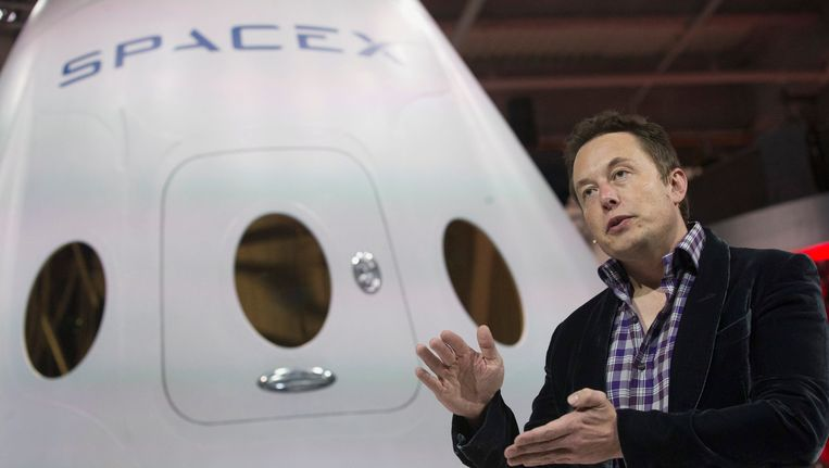Het Amerikaanse ruimtevaartbedrijf SpaceX wil in 2018 een onbemand ruimteschip naar Mars sturen.