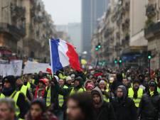 Ontevreden Fransen voor de tiende keer de straat op