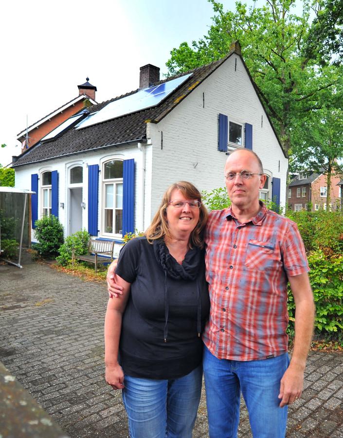 Heleen en Noud Heuvelmans  waren initiatiefnemers van project Tiny Houses in Son.