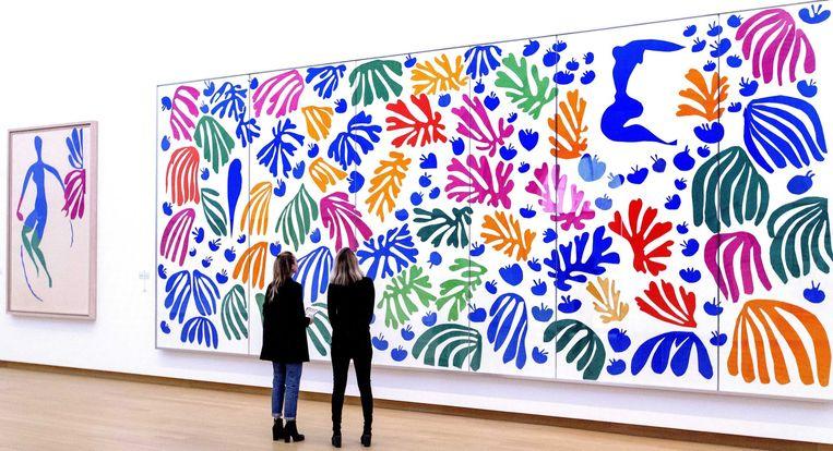 Matisse in het Stedelijk Museum Amsterdam. Beeld EPA