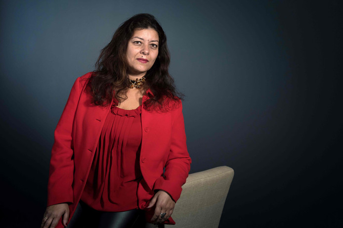 La journaliste Sandra Muller.