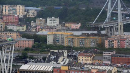 Truckchauffeur in shock na nipte ontsnapping aan de dood bij ramp in Genua
