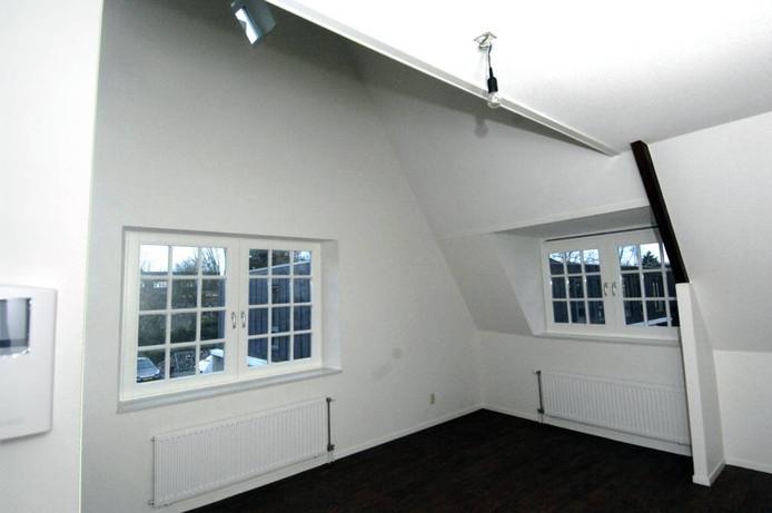 Een appartement in het kerkje, die variëren van 45 tot 53 vierkante meter oppervlakte