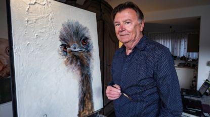 """Beroeps-kunstschilder Geert De Meyer stelt zijn Lentevoorstelling voor: """"Ik amuseer me enorm met het schilderen van dieren"""""""