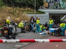 Fietstunnel dicht na valpartij met elektrische fiets in Amersfoort