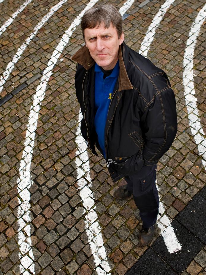 Sjef van Creij van de eenmansfractie Gewoon-geDREVEN in de Bossche gemeenteraad.