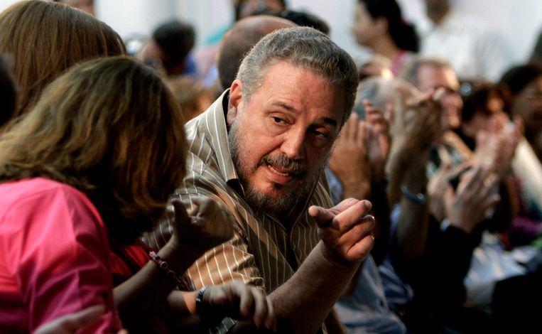 Fidel Castro Diaz-Balart (midden).