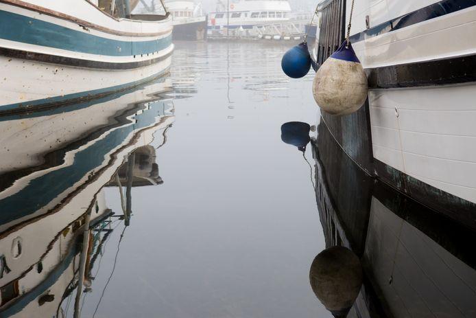 Illustratiefoto van vissersboten in Seattle.