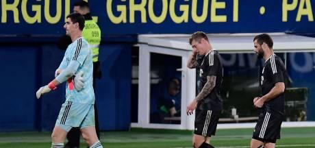 Un penalty provoqué par Courtois et de nouveaux points perdus pour le Real et Eden Hazard