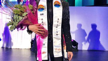 Eeklonaar Nick Van Vooren (22) knap vijfde op Mister Gay World