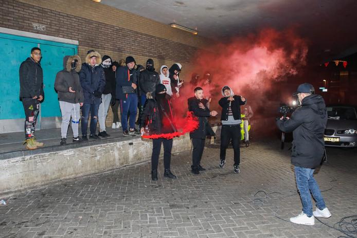 overval videoclip Ridderkerk