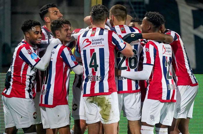 Er valt veel te vieren dit seizoen bij Willem II.