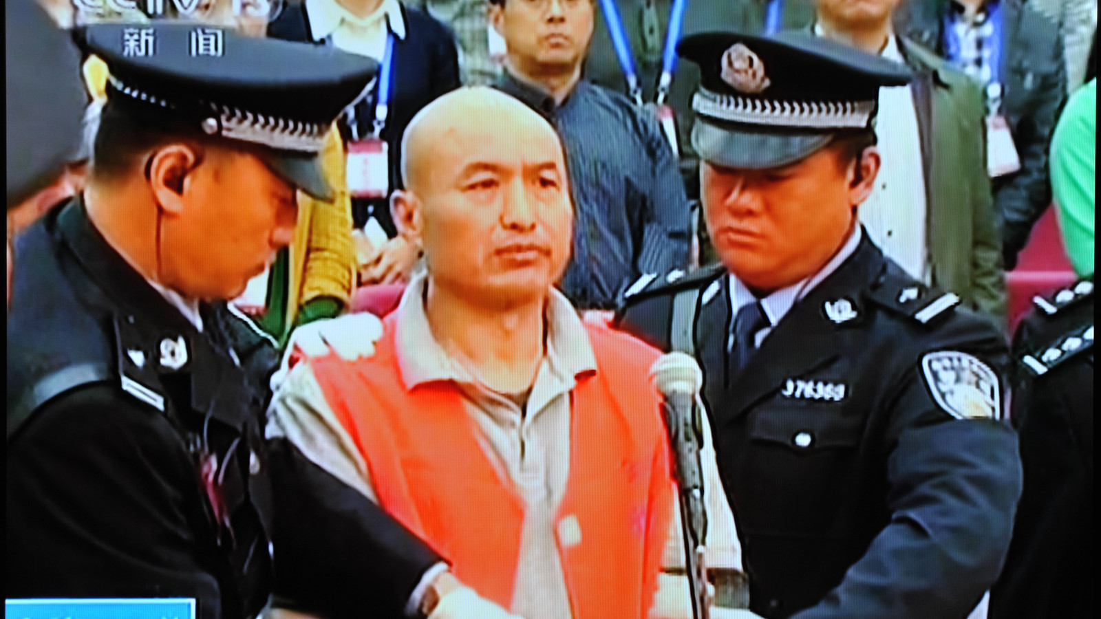 Zhang Lidong werd ter dood veroordeeld voor de moord op een 'ongelovige' in een McDonald's in China.