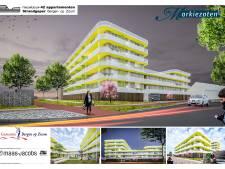 Nieuw appartementencomplex in de pen in Bergse woonwijk De Markiezaten