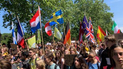 7.500 klimaatspijbelaars protesteren een laatste keer voor een beter klimaatbeleid
