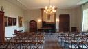 De zaal in kasteel Hackfort waar op 26 januari Jazz in het Kasteel plaatsvindt, met de Amerikaanse diva Deborah Carter.