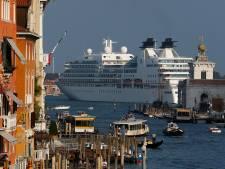 Derde van cruiseschepen vanaf volgend jaar niet meer welkom aan San Marcoplein in Venetië