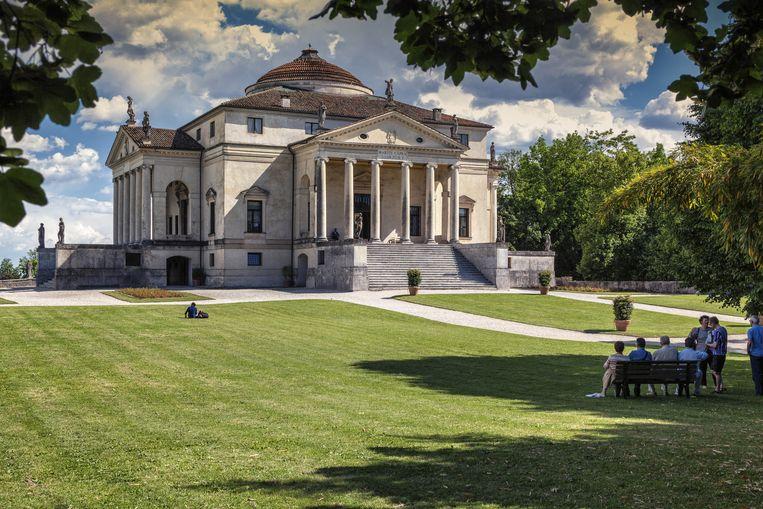 Gebouw: Villa Rotonda, Vicenza. 'Ook voor mij was het een belangrijk gebouw tijdens mijn opleiding, maar dan vooral om me ertegen af te zetten.' Beeld Guido Baviera / HH