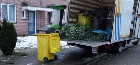 Geen sneeuw op het dak: 300 hennepplanten gevonden in Sprang-Capelle