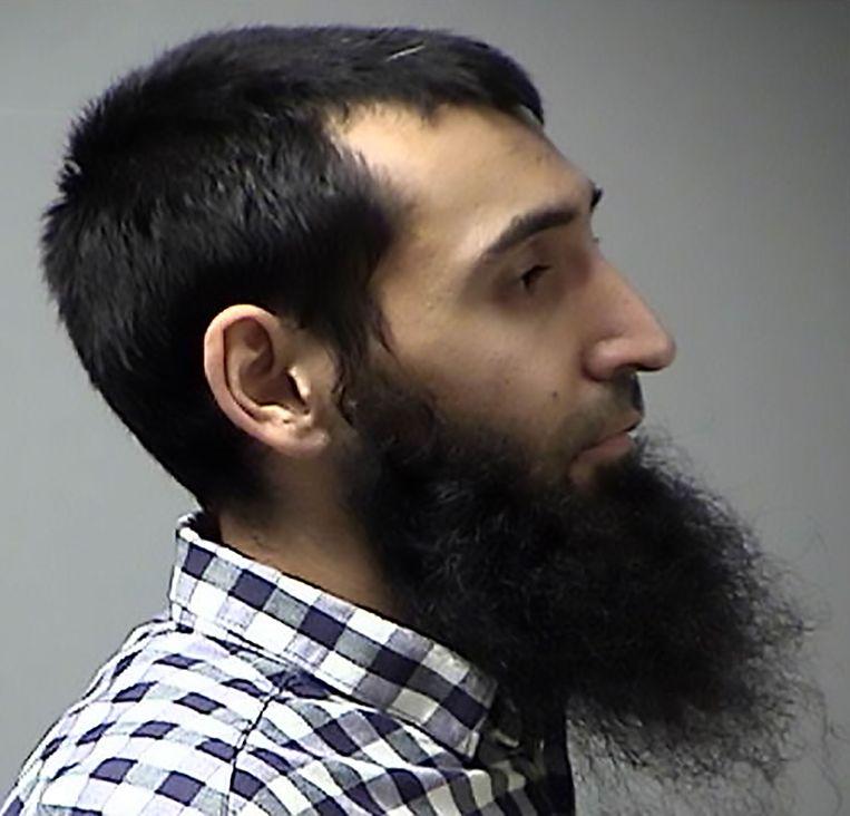 De vermoedelijke dader: Sayfullah Habibullahevic Saipov.